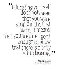 Plenty left to learn