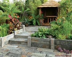 Great prices on Stonemarket Timberstone driftwood style corner & intermediate posts for use with Timberstone concrete Sleepers. Free Local Delivery from AWBS Stone Garden Paths, Garden Stones, Landscaping Supplies, Landscaping Tips, Concrete Sleepers, Paver Path, Pool Pavers, Patio Layout, Path Ideas
