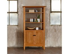 Dunning Avocat Bookcase    The Joinery   Portland OR