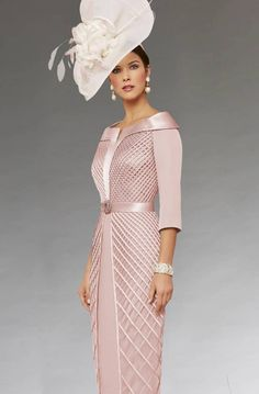 Short fitted dress with sleeves. 008527 - Catherines of Partick - 991472 cameo background zoom Source by - Mother Of Bride Outfits, Mother Of Groom Dresses, Mother Of The Bride Fashion, Bride Groom Dress, Elegant Dresses, Beautiful Dresses, Formal Dresses, Wedding Dresses, Short Fitted Dress