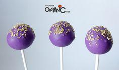 Violet Cake Pops by niner bakes, via Flickr