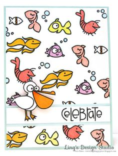 card by SPARKS DT Vera Wirianta Yates PS stamp sets: Surf and Turf