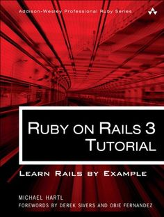 Ruby on Rails 3 Tutorial: Learn Rails by Example « Delay Gifts