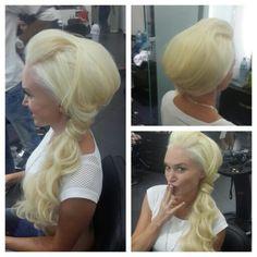#hair #cabello #upDos #redCarpet #platino #peinado #peluquero #hairdresser #hairstylist #estilista #peluquero #beauty #stunning #panama #pty #salon #wave #ondas #glam
