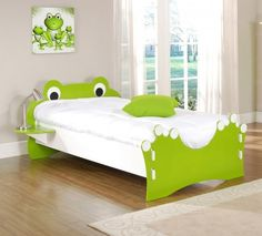 frog bed - Want this for Tristan!