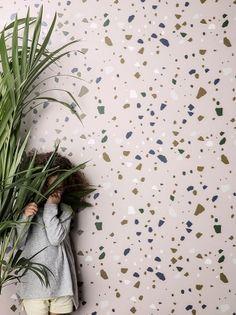 Terrazzo Wallpaper - Rose