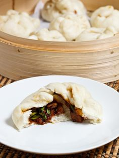 How to Make Authentic Char Siu Bao or Chinese BBQ Pork Buns Recipe - just like the ones you'd have at dim sum!
