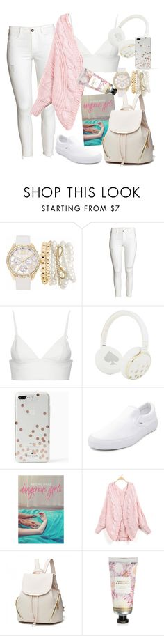"""""""Untitled #125"""" by natalawalczak ❤ liked on Polyvore featuring Mixit, T By Alexander Wang, Kate Spade, Vans and David Jones"""