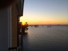 Sunset at Colonia del Sacramento, Uruguay.