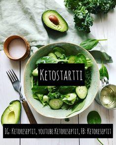Ketostartti – FOODYARD Avocado Toast, Kimchi, Stevia, Fresh Rolls, Breakfast, Ethnic Recipes, Food, Morning Coffee, Eten