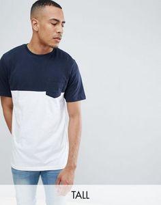 d282f8fbfba Jacamo Color Block T-Shirt With Pocket