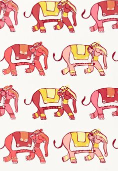 """Lulu DK Child - a new line of scrumptious fabrics from lulu DK.  I can just imagine this turned into a crib sheet and pillows and changing table cover in our baby girl nursery!  OR the blue elephants.  Or the """"Love"""" printed fabric.  They are all brilliant!!"""