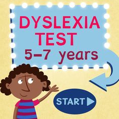 Free Dyslexia Test Five To Seven Years Phonics For Kids Activities For Kids Kids