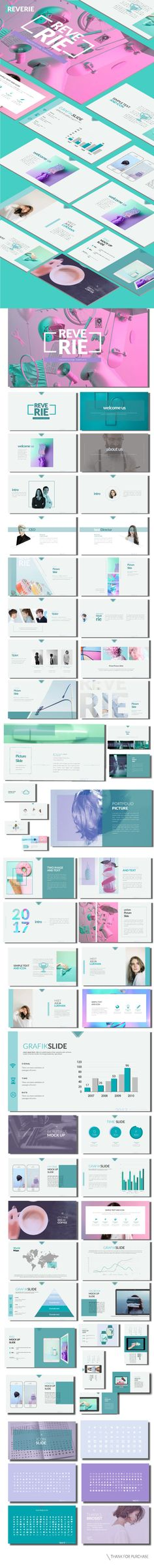 Reverie - Multipurpose Presentation Template - Business PowerPoint Templates