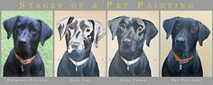Dog Paintings, a good reference for any type of paintings that are one main color