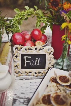 Outdoor fall picnic!