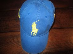 05499c47089 NEW POLO RALPH LAUREN MEN S BASEBALL CAP BIG PONY BLUE NWT  PoloRalphLauren   BaseballCap