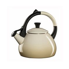 Le Creuset Enameled Steel 16 Quart Oolong Tea Kettle Dune -- You can find out more details at the link of the image.