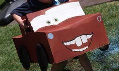 Make Disney's Cars From Cardboard!  PLUS Video!