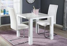 CAVA-ruokailuryhmä (CAVA-pöytä 80X80CM+2 CAVA-tuolia valkoinen) - Ruokailuryhmät ja pöydät | Sotka.fi