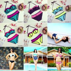 Summer collections are now up! Limited stocks only. Grab one now for as low as P649.00 high waist swimwear and P619.00 low waist swimwear.