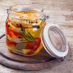 Russian Recipes, Food Art, Pickles, Cucumber, Mason Jars, Food And Drink, Homemade, Canning, Vegetables