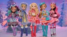 Ever After High Epic Winter Movie Dolls 2016 #everafterhigh #eah