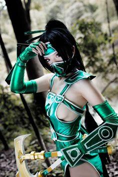 #Cosplay Mortal Kombat: #Jade