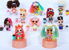 5 LOL Surprise Makeover Series 5 WAVE 2 Hairgoals Doll Boys Sparkle 1 6 In Hand