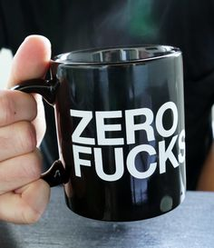 ZERO FUCKS Bethenny Mug