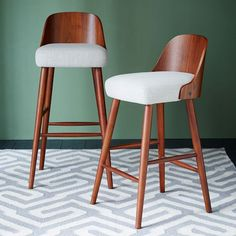 Bentwood Bar + Counter Stool | West Elm - counter stools