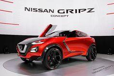 【2015フランクフルトショー】日産、コンパクトクロスオーバーとスポーツカーが融合した「Nissan Gripz Concept」世界初公開 - Car Watch