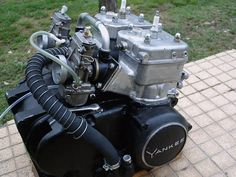 The Spanish builder Ossa supplied Yankee Motorcycles (USA) with this motor (500cc 2-stroke twin) and other smaller capacity engines