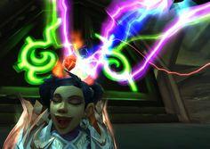 Pretty colours! *crazy laugh* #Selfie  #Warcraft