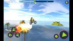 Bike Stunt Tricks Master 3D Racing Android Gameply #1 Motorbike Game, 3d Racing, Stunts, Channel, Android, Waterfalls