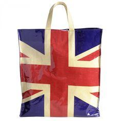 Union Jack Laminated Shopper