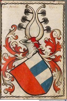 Scheibler'sches Wappenbuch Süddeutschland, um 1450 - 17. Jh. Cod.icon. 312 c  Folio 433