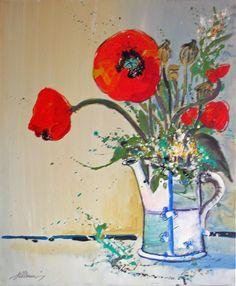 im Garten der Provence....immer wieder..trifft man in Gedanken auf Van-Gogh..aus dieser Serie sind 40 Acrylgemälde entstanden..-in der Größe 50x60cm auf Leinwand..- von..-Kunst-Maler..-Thomas Mühlbauer