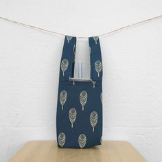 Drink Holder, Waterproof Fabric, Travel Mugs, Body Size, Cloth Bags, Feathers, Cozy, Tote Bag, Sewing