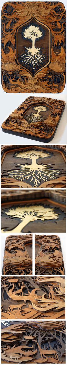 The Tree of Life by mtomsky.deviantart.com on @deviantART