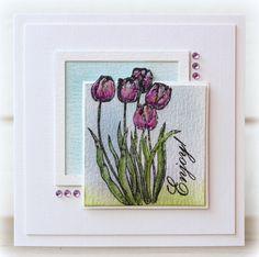 Garden Society Technique Tuesday April 2013 Stamps Set