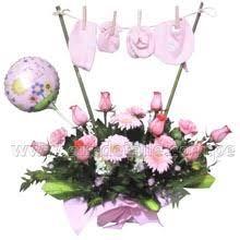 Resultado De Imagen Para Arreglos Florales Para Baby Shower