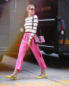 "11.6 mil curtidas, 84 comentários - Maria Helena Bordon Meireles (@helenabordon) no Instagram: ""It's going to be a very pink #NYFW | foto @leofaria"""
