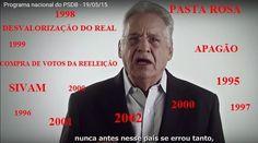 fhc capa PSDB mentiu para reeleger FHC; não pode acusar o PT de mentir
