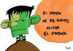 """""""Frankenstein"""" Ilustración a lápiz y tinta, coloreada con Photoshop."""