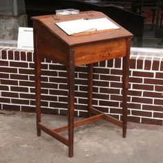 Image result for stand up writing desk