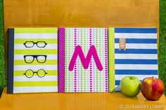 Dress up boring old composition notebooks with designer paper, washi tape, and papercrafting embellishments!