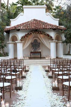 Rancho Las Lomas Winter Wedding