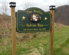 The Reillys Property Sign