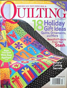 American Patchwork and Quilting Magazine December 2006 Issue